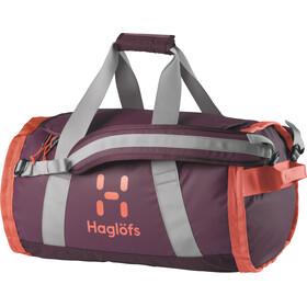 Haglöfs Lava 50 Duffel Bag, aubergine/coral pink